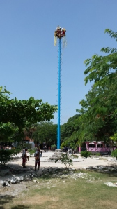 the Mexican maypole