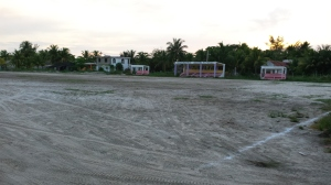 the local footie pitch
