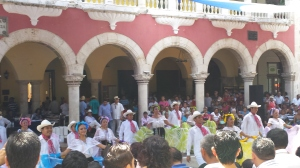 dancing in the zocalo on sunday
